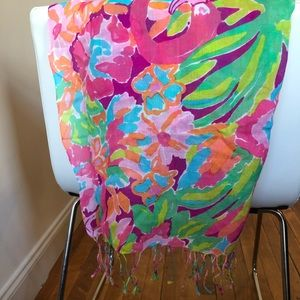 Lily Pulitzer scarf!